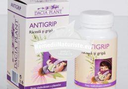 ANTIGRIP 60cpr DACIA PLANT Tratament naturist raceala gripa imunostimulent antiseptic