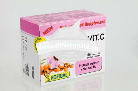 ECHINAVIT C 60cpr HOFIGAL Tratament naturist raceala si gripa raceala guturai gripa