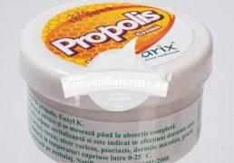 UNGUENT PROPOLIS 40gr LARIX Tratament naturist antibacterian antifungic regenerator rani