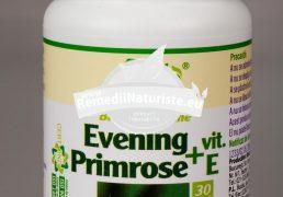 EVENING PRIMROSE+VITAMINA E 30cps ROTTA NATURA Tratament naturist reglarea sistemului hormonal