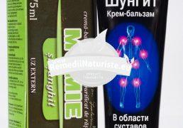 CR-BALSAM SUNGHIT CU RASINA DE MUMIE 75ml DAMAR Tratament naturist adjuvant in dureri articulare inflamatii articulare varice fracturi