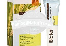 CREMA ANTIRID OCHI BIOTEN 15ml ELMIPLANT Tratament naturist elimina cearcanele si protejeaza pielea delicata din jurul ochilor riduri cearcane