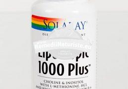 LIPOTROPIC 1000 PLUS 100cps SECOM Tratament naturist tulburari hepatice hipercolesterolemie arteroscleroza obezitate