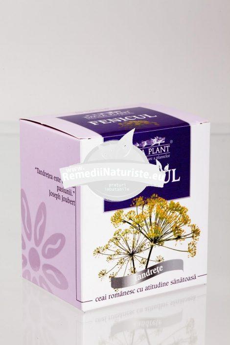 CEAI FENICUL 50g DACIA PLANT Tratament naturist sedativ tonic-digestiv vermifug acuitate vizuala