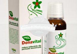 DONAVITAL 30ml OZONE NATURALES Tratament naturist sindrom premenstrual dismenoree amenoree oligomenoree
