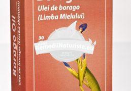 BORAGO OIL 30CPS VITA CARE Tratament naturist remediu pentru febra furuncule dureri ale sanilor sindrom premenstrual