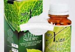 5 HTP SLABIRE 60cps HYPERICUM Tratament naturist cura de slabire slabire obezitate anticelulitic