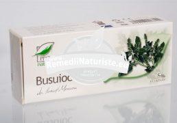 BUSUIOC 30cps BLISTER MEDICA Tratament naturist colici gastrointestinale ulcer gastric infectii urinare spasme abdominale