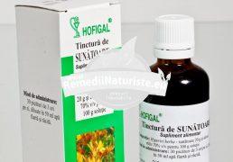 TINCTURA SUNATOARE 50ml HOFIGAL Tratament naturist astenii nervoase gastrite hiperacide stari depresiv anxioase distonie neuro-vegetativa