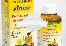 SIROP PODBAL+RIDICHIE NEAGRA+PROPOLIS+MIERE 100ml PONTICA Tratament naturist antiinflamator expectorant antitusiv diuretic