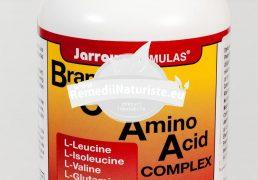 BRANCHED CHAIN AMINO ACID COMPLEX 120cps SECOM Tratament naturist stimuleaza activitatea mentala masa musculara sistemul digestiv reface tesuturile