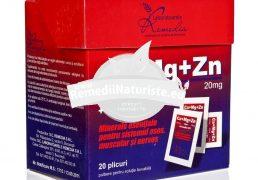 CA MG ZN +VIT.D3 20pl REMEDIA Tratament naturist regl.sistemului endocrin fortifica sistemul imunitar stres suprasolicitare fizica si mentala