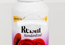 REISHI 100cps SECOM Tratament naturist imunomodulator detoxifiant adaptogen terapii antitumorale