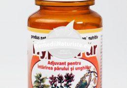 HYPER-PAR 60cps HYPERICUM Tratament naturist pentru ingrijirea parului tonifierea firului de par circulatie periferica matreata