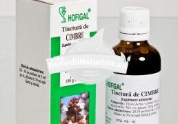 TINCTURA CIMBRU 50ml HOFIGAL Tratament naturist coleretic antiseptic tuse laringita
