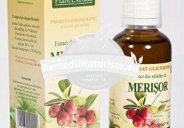 VACCINIUM VITIS (MERISOR) 50ml PLANTMED Tratament naturist cistite miopie hipertensiune arteriala fibrom uterin
