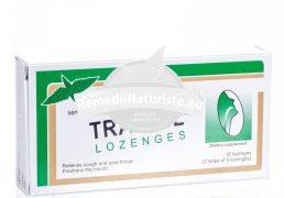 DROPSURI TRAVISIL CU MENTA 16dr ZENIT Tratament naturist tuse faringita laringita traheobronsita
