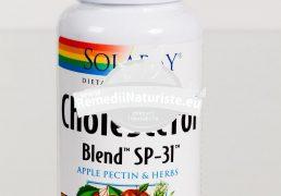 CHOLESTEROL BLEND 100cps SECOM Tratament naturist reduce colesterolul trigliceridele protectie cardiovasculara ulcer