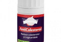 ANTICOLESTEROL 40cps HERBAGETICA Tratament naturist reduce colesterolul si trigliceridele colesterol