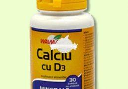 CALCIU+D3 30cps WALMARK Tratament naturist pentru copii aflati in perioada de crestere perioada de crestere sarcina convalescenta