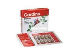 CARDINA 30cps GOLDEN HERBS Tratament naturist tensiune tulburari de blocaj coronarian nivel ridicat de colesterol hipertensiune arteriala
