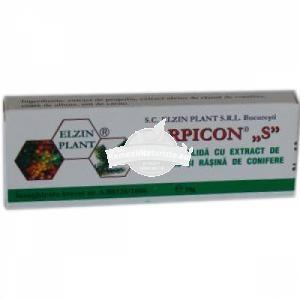"CARPICON ""S"" SUPOZITOARE 10 x 1.5g ELZIN PLANT Tratament naturist chisturi ovariene hemoroizi anexita uter fibromatos"