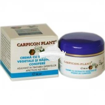 CREMA CARPICON PLANT 50ml ELZIN PLANT Tratament naturist tratarea tegumentelor patate negi bataturi bataturi