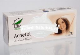ACNETOL 30cps blister MEDICA Tratament naturist acnee infectii ale pielii antiacneic antiseboreic