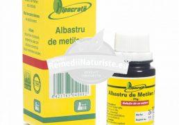 ALBASTRU DE METILEN 1% 25g HIPOCRATE Tratament naturist cicatrizant antiseptic