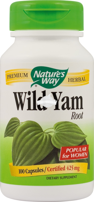 WILD YAM 100cps SECOM Tratament naturist adjuvant in menopauza dureri menstruale afectiuni gastrointestinale urinare